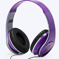 Jumbo Folding Stereo Headphones