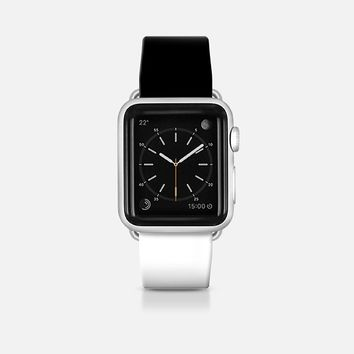 Black and white Apple Watch Band (42mm)  by WAMDESIGN | Casetify