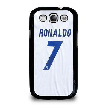 RONALDO CR7 JERSEY REAL MADRID Samsung Galaxy S3 Case Cover