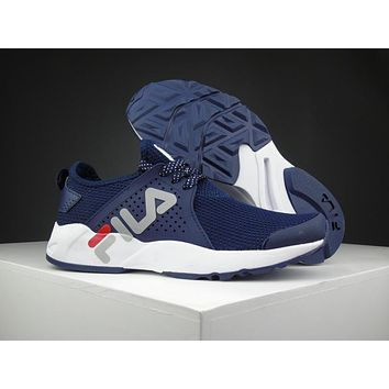 Fila 1751 Navy Running Shoes Size 36 44.5