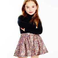 Kids Multi Glitter Skater Skirt