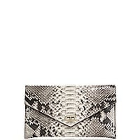 Dee Ocleppo - Editor's Multitone Python Envelope Clutch - Saks Fifth Avenue Mobile