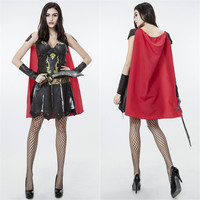 Spanish Woman Warrier Cosplay Anime Cosplay Apparel Holloween Costume [9220297668]
