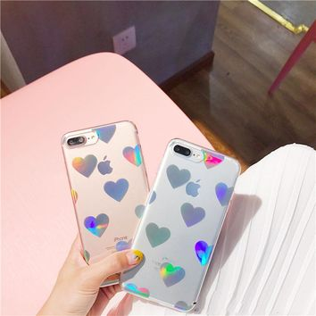 Fashion  Hearts Phone Case For iPhone 6 6s Plus 7 7 Plus