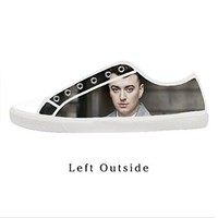 Custom Sam Smith Women's Canvas Shoes Fashion Shoes for Women