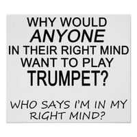Right Mind Trumpet Posters