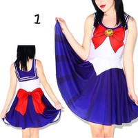 Vestido Sailor Moon/Sailor Moon Dress WH042