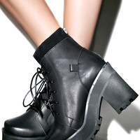 UNIF Reverb Boot Black