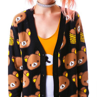 Japan L.A. Rilakkuma Cardigan Multi
