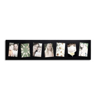 7-Opening Collage Picture Frame - Tilted - 5x7