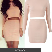 Blushing  Crop Set