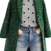 J.Crew Daphne Tweed Topcoat (Regular & Petite) | Nordstrom