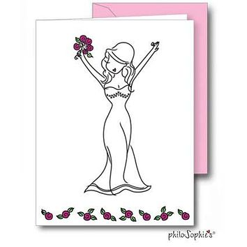 Bride - Engagement/Shower Greeting Card