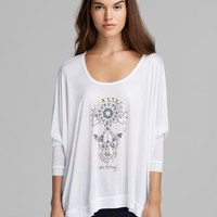 Peace Love World Top - I am Protected Eternal Life | Bloomingdale's