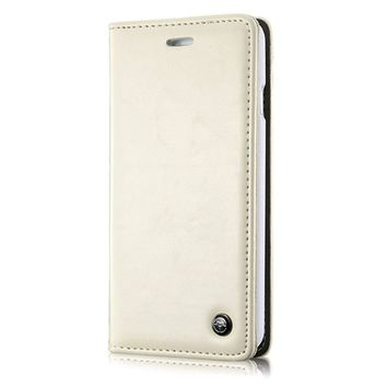 Iphone 6s Plus Case, Business Leather Wallet Case for Iphone 6s Plus [Folio Book Design] [Earphone Cutout Reserved] [Card Slot] [Kickstand