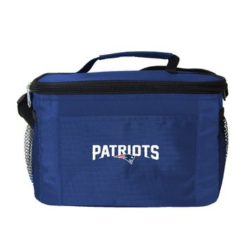 New England Patriots Insulated 6 Pack Cooler/Lunch Bag