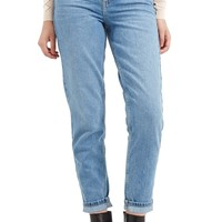 Topshop Light Denim Mom Jeans | Nordstrom
