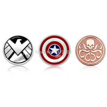 Cool Fashion Car Styling Agent of Shield Resident Evil 3D Metal Chrome Zinc Alloy 3D Emblem Badge Sticker Decal Auto Accessory