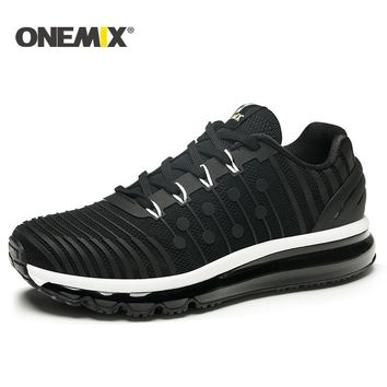 ONEMIX 2018 NEW men running shoes Air cushion running shoes men Breathable Runner mens athletic shoes Sneakers for men