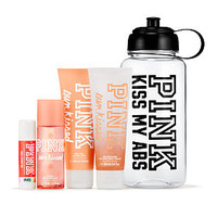Sun Kissed Water Bottle Gift Set - PINK - Victoria's Secret