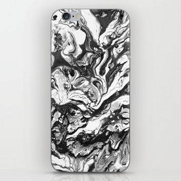Black & White Marble iPhone & iPod Skin by Malavida | Society6