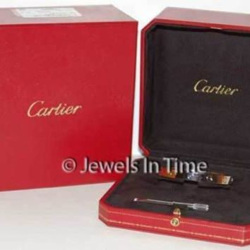 Cartier Love Bracelet Size 18 18k White Gold Box/Certificate/Screwdriver NEW