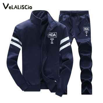 men's sets 2018 New Spring And Autumn Tracksuits Men Sweatshirt Jacket Men's Suits Brand Leisure Sportswear Men's Clothing