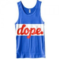 The Dope. Game Track Tank