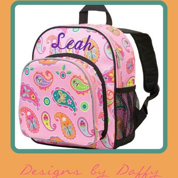 Personalized Backpack - Paisley - Monogrammed