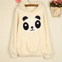 Lovely panda fleece