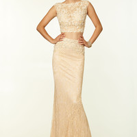 Paparazzi by Mori Lee 97063 Two Piece Prom Dress