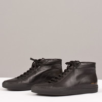 Common Project Original Black Achilles Mid