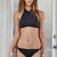 LA Hearts V-Neck Cropped Bikini Top at PacSun.com
