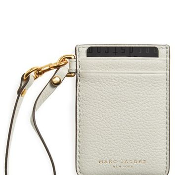 MARC JACOBS Commuter Leather Card Case | Nordstrom