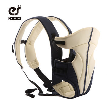 ECOSUSI Classical Durable New Born Front Baby Carrier Comfort Baby Slings Fashion Mummy Child Sling Wrap Bag Infant Carrier