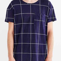 Your Neighbors Grid Cotton Linen Tee