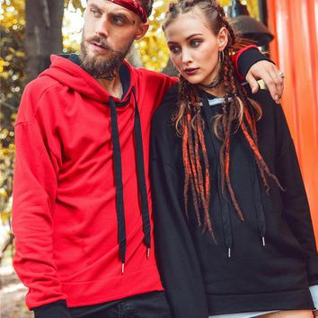 Hats Pullover Simple Design Couple Hoodies [66694840345]