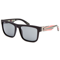Spy Happy Lens Discord Sunglasses Black/Red One Size For Men 25715412601
