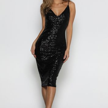 Prato Sequin Dress