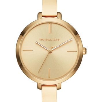 Michael Kors Jaryn Crystal Accent Bangle Watch, 36mm | Nordstrom