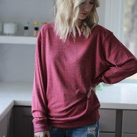 Balanced Crew Neck Top
