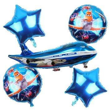 AIRPLANE BALLOONS-Aviator Party Balloons, Plane Party Theme, Aircraft Party, Aviator Party Decoration, Planes Cartoon Party, Captain Party