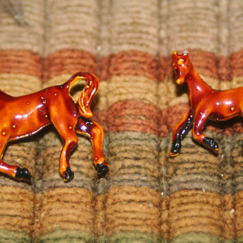 Vintage Horse Brooch Pin ,Collectible Pins