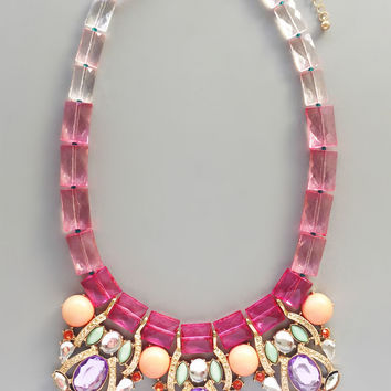 Sweet Pastel Icecream Necklace