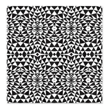 Black And White Shower Curtain - Mix #557 - Ornaart Design