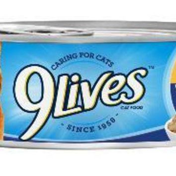 LMFYN5 9Lives Tender Morsels With Real Turkey & Chicken In Sauce Wet Cat Food 5x4-5.5Z