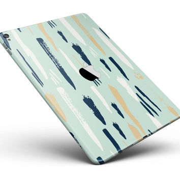 "Neutral Brush Strokes Full Body Skin for the iPad Pro (12.9"" or 9.7"" available)"