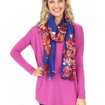 PIKO Orchid Love on Top Long Sleeve Tunic | Monday Dress Boutique