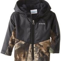 Columbia Baby Boys' Steens MT Overlay Hoodie, Timberwolf/Black