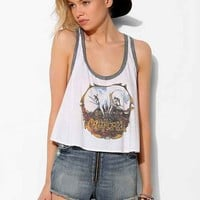 Chaser California Skull Tank Top- Ivory